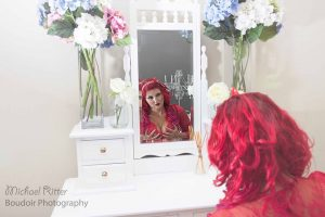 Boudoir Photography Melbourne - Beauty in the Mirror