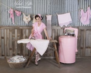 Pinup Photography Melbourne - Washing Machine Set